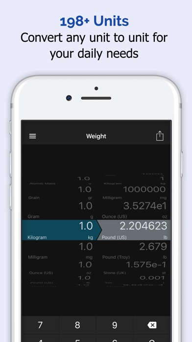 Currency Converter - Units Conversion Calculator by iThinkdiff (iOS