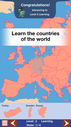 Geo Touch Learn Geography on the App Store - best of locate places on world map game