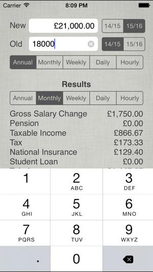 UK Salary Calculator 2019-20 on the App Store