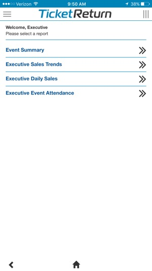 TicketReturn - Executive Reports on the App Store