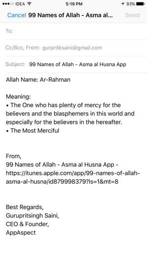 99 Names of Allah - Asma al Husna on the App Store - in the name of allah