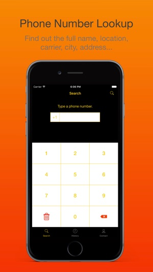Phone Number Lookup  Reverse Caller ID on the App Store - address phone number lookup
