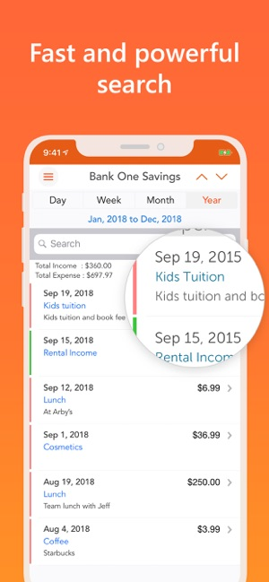 Easy Spending, Expense tracker on the App Store