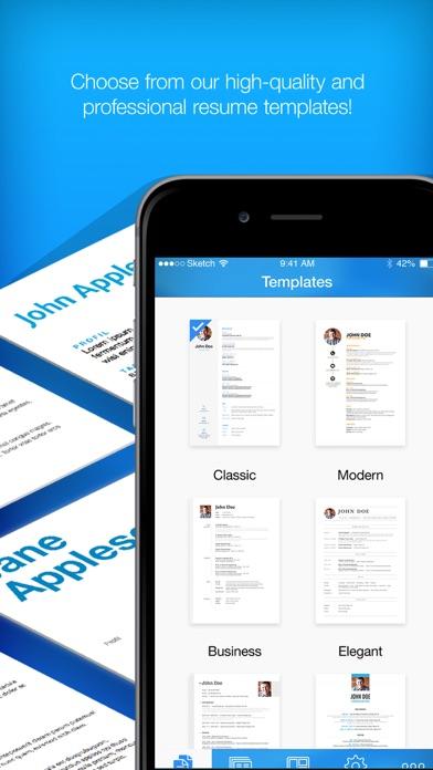 Resume Builder, Resume Creator App Data  Review - Business - Apps