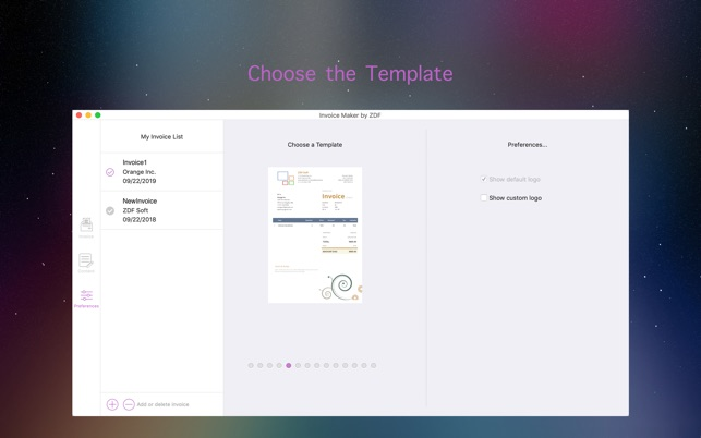 Invoice Maker by ZDF on the Mac App Store