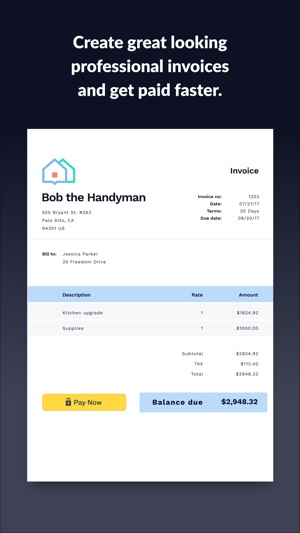 Invoice 2go Invoice  Estimate on the App Store