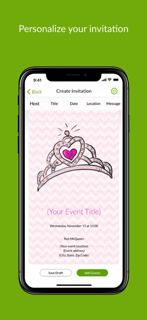 Evite Online Invitations on the App Store - create invitations online free no download