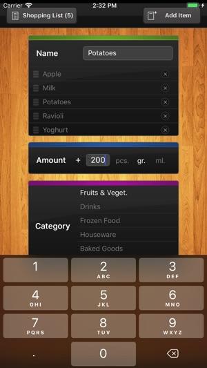 ShopList (Grocery List) on the App Store