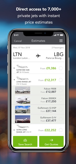 Victor Private Jet Charter on the App Store