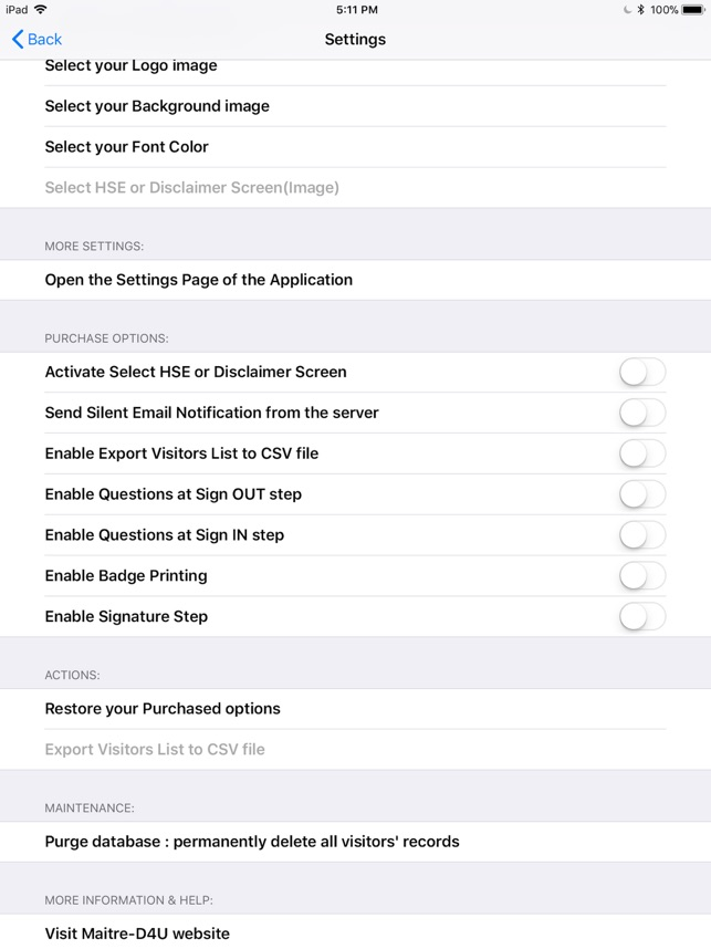 Visitor Log Book on the App Store