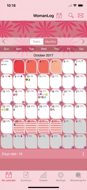WomanLog Calendar on the App Store