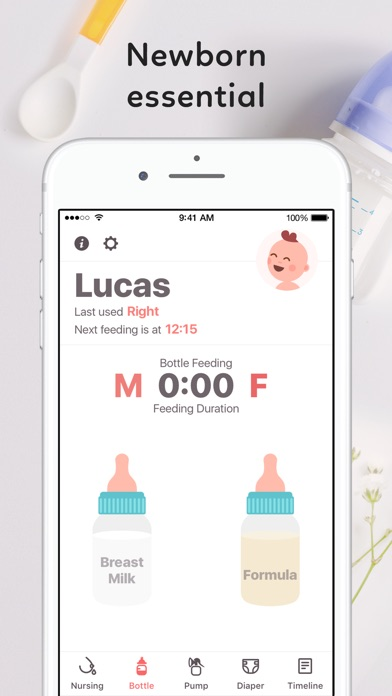 Newborn Baby Tracker by AppCraft, LLC (iOS, United States