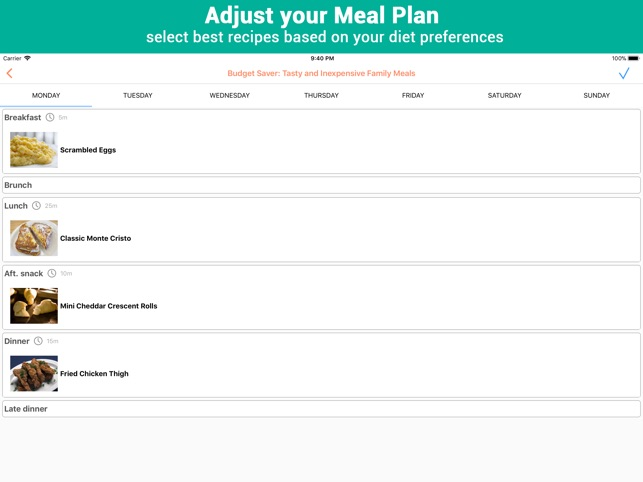 Recipe Calendar - Meal Planner on the App Store