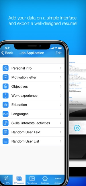 Resume Builder, Resume Creator on the App Store - resume build