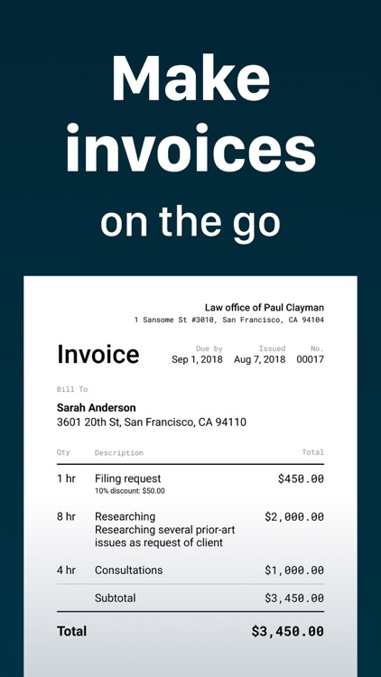 Invoice Maker App 20 by GetPaid Inc
