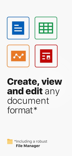 OfficeSuite - Office Editor on the App Store - microsoft office versions comparison chart