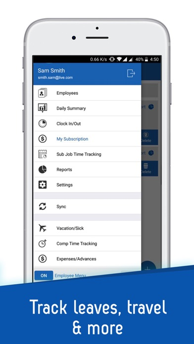 iTimePunch Plus App Profile Reviews, Videos and More - vacation tracker app