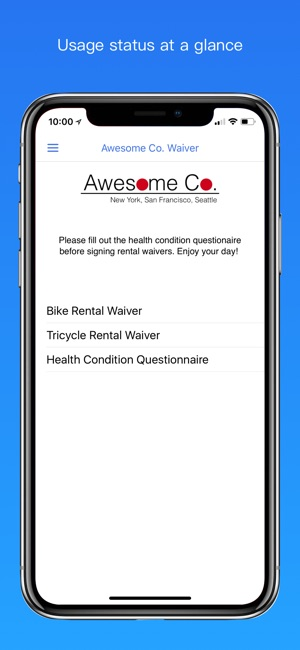 WaiverForever - Online Waiver on the App Store