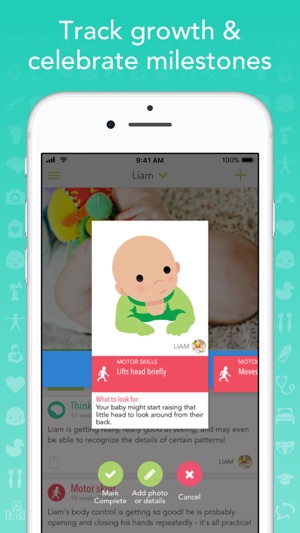 Ovia Parenting - Baby Tracker on the App Store - baby milestone timeline