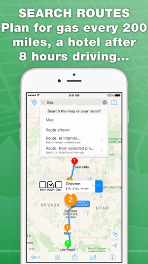 inRoute Route Planner on the App Store - trip maker software