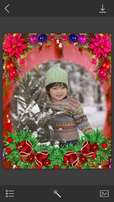 Christmas Special Frame - Frame Booth App Price Drops