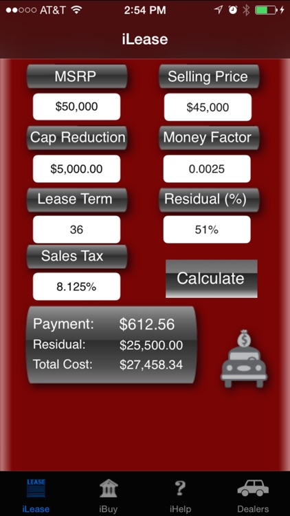 iLeaseMyCar Loan and Lease Payment Calculator by Marcus Ray
