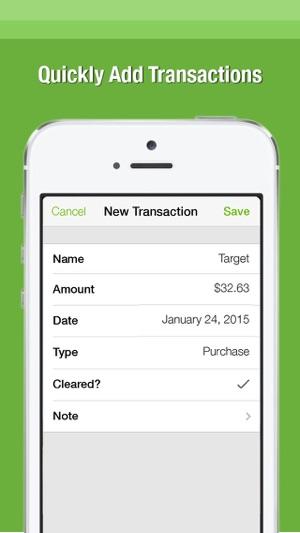 Balance \u2014 The Simple Checkbook Register on the App Store