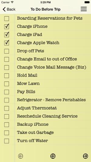 Essential Travel Checklist on the App Store - Travel Checklist
