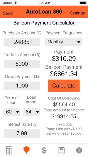 auto loan calculator with balloon - My Mortgage Home Loan