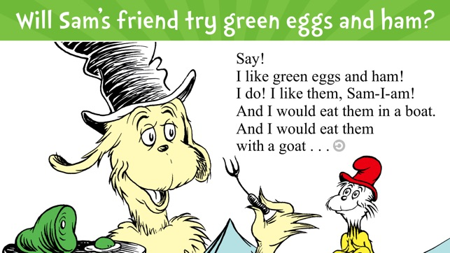Green Eggs and Ham on the App Store
