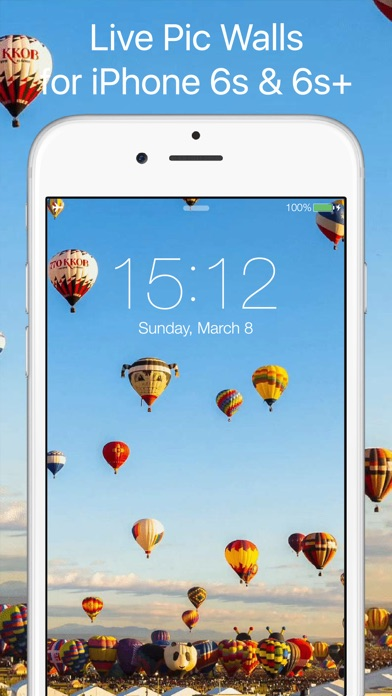 Live Wallpapers by LivePicWalls - Dynamic Animated Gif Wallpaper for iPhone 6s & 6s+ App ...