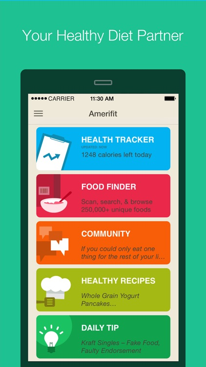 Amerifit Nutrition Tracker by Fooducate, Ltd - nutrition tracker