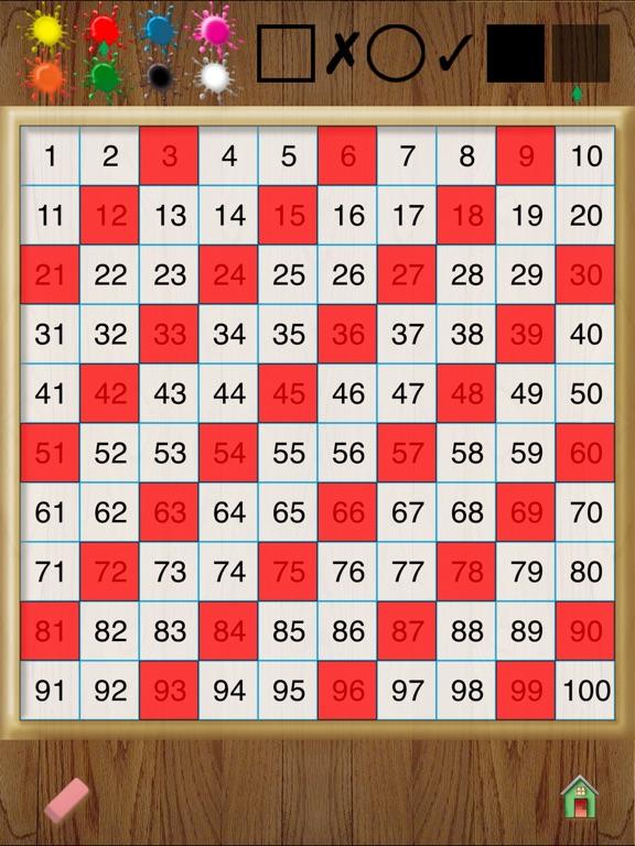 Hands-On Math Hundreds Chart App Price Drops