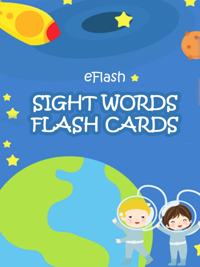 Sight Words Flash Cards - Play with flash cards on the App Store
