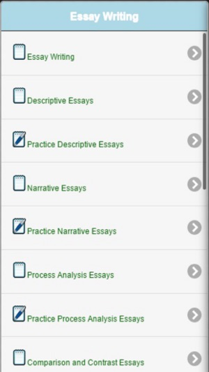 Essay Writing  Essay Topics on the App Store