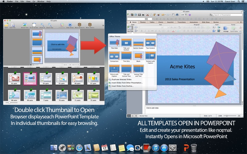 Professional Templates  Backgrounds for Microsoft PowerPoint App