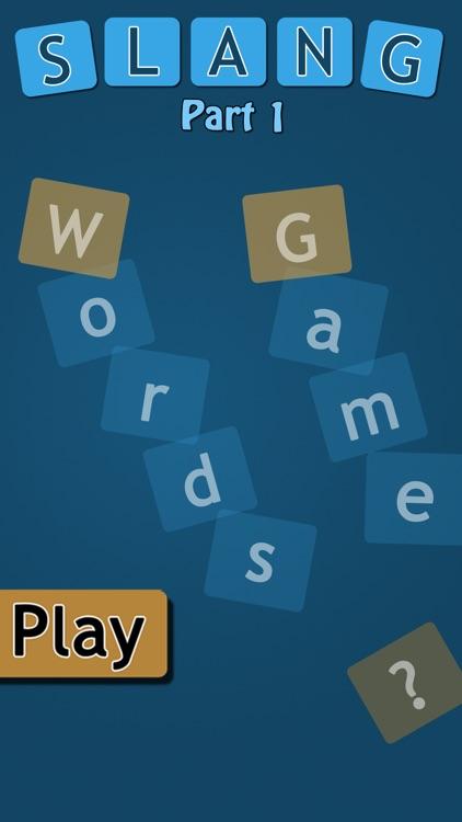 Slang Word Game - part 1 by Polpat Alansari