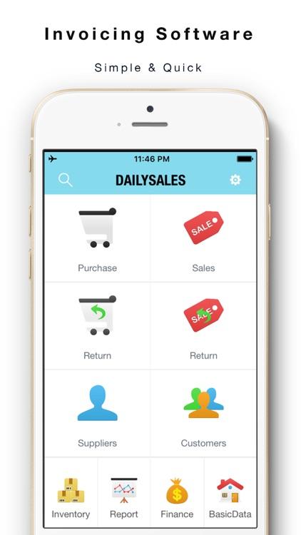 Daily Sales Tracker 2 -Items storage,Stock tracker by yongwen hu