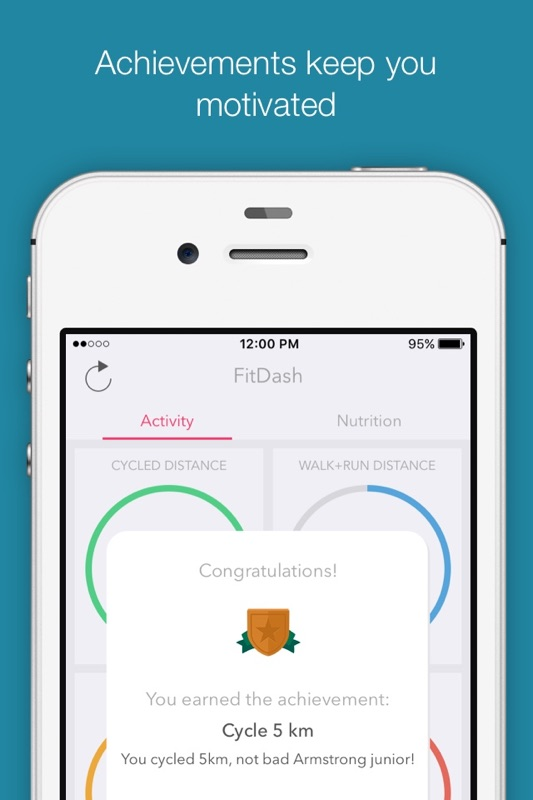 FitDash - Social Calorie, Activity and Nutrition Tracker - Online