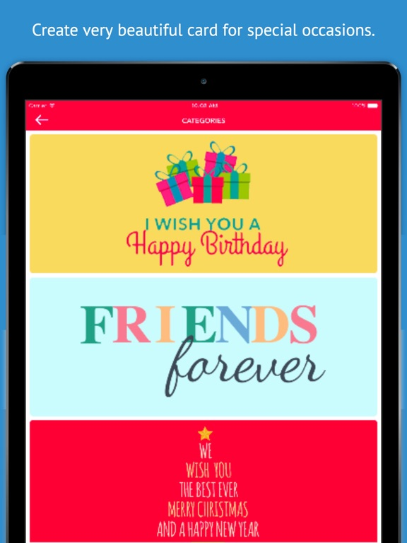 Greeting Card Maker - Create Birthday Cards, Thank You Cards, and