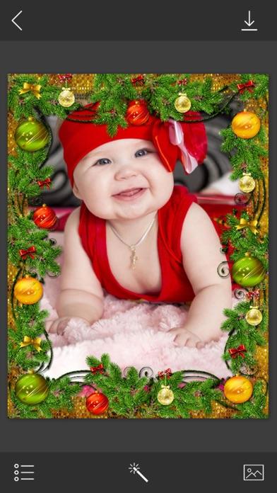 Christmas HD Frame - insta frames for photo by Maniya Pratik (iOS