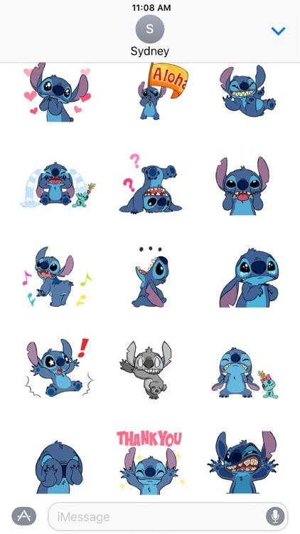 Dynamic Iphone X Wallpaper Disney Stickers Stitch By Disney