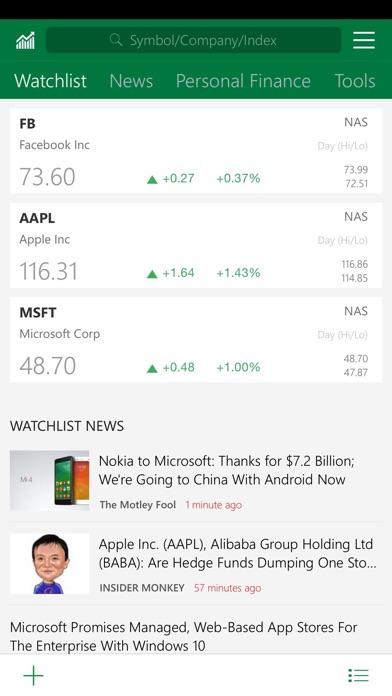 MSN Money - AppRecs
