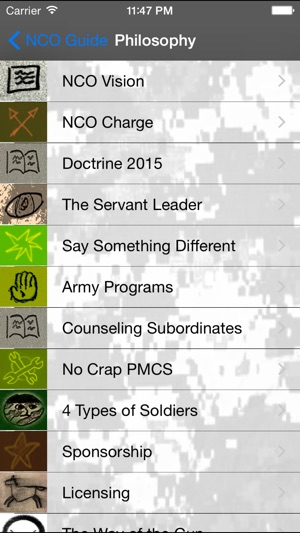 Army NCO Guide on the App Store