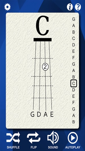 Violin Notes Flash Cards on the App Store