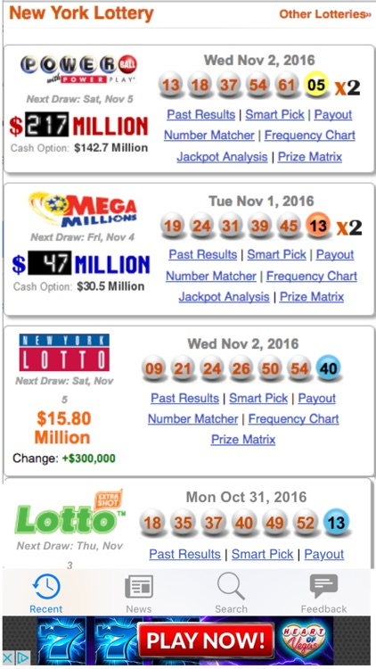 Lottery Results NY by Leisure Apps