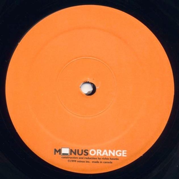 Minus Orange - EP by Richie Hawtin