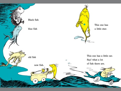 One Fish Two Fish Red Fish Blue Fish By Dr Seuss On Ibooks