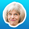 Scott Broughton - May-moji - The many faces of Theresa May アートワーク