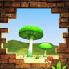 xiaolong ding - Picking mushrooms game アートワーク